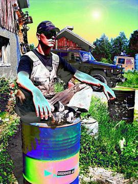 psychedelic greendiesel