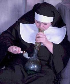 nun_smoking_a_bong